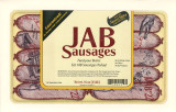 JAB sausages : feed your brain, eat JAB sausages today!