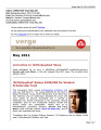 Verge : the e-newsletter of the University of the Arts, May 2011 [correction]